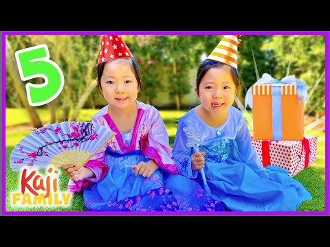 Emma and Kate's 5th Birthday Celebration Surprise!