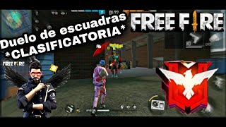 Desde Platino A Heroico EN CLASIFICATORIA DUELO DE ESCUADRA? SUBIENDO A HEROICO! ❤️🥺! #FREEFIRE
