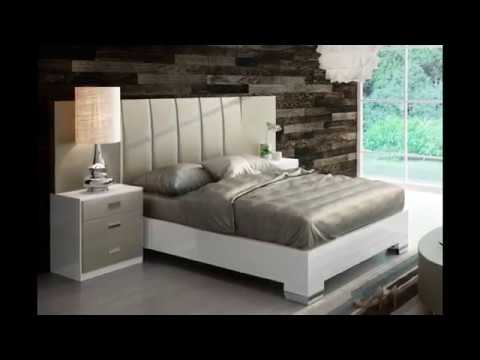Modern Bedrooms   Euro Style Furniture Montreal