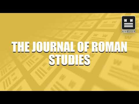 The Journal of Roman Studies