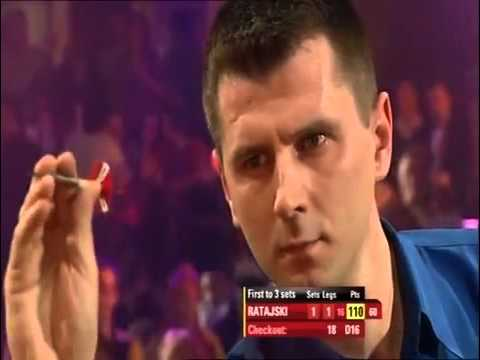 Darts World Championship 2009 Max vs Ratajski