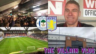 Wigan Athletic V Aston Villa :The Villain Vlog