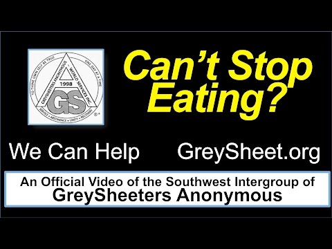 GreySheeters Anonymous Speaker — Kay H., 35 Years of GreySheet Abstinence