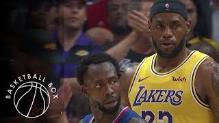 [NBA] Los Angeles Lakers vs Los Angels Clippers, Full Game Highlights, October 22, 2019