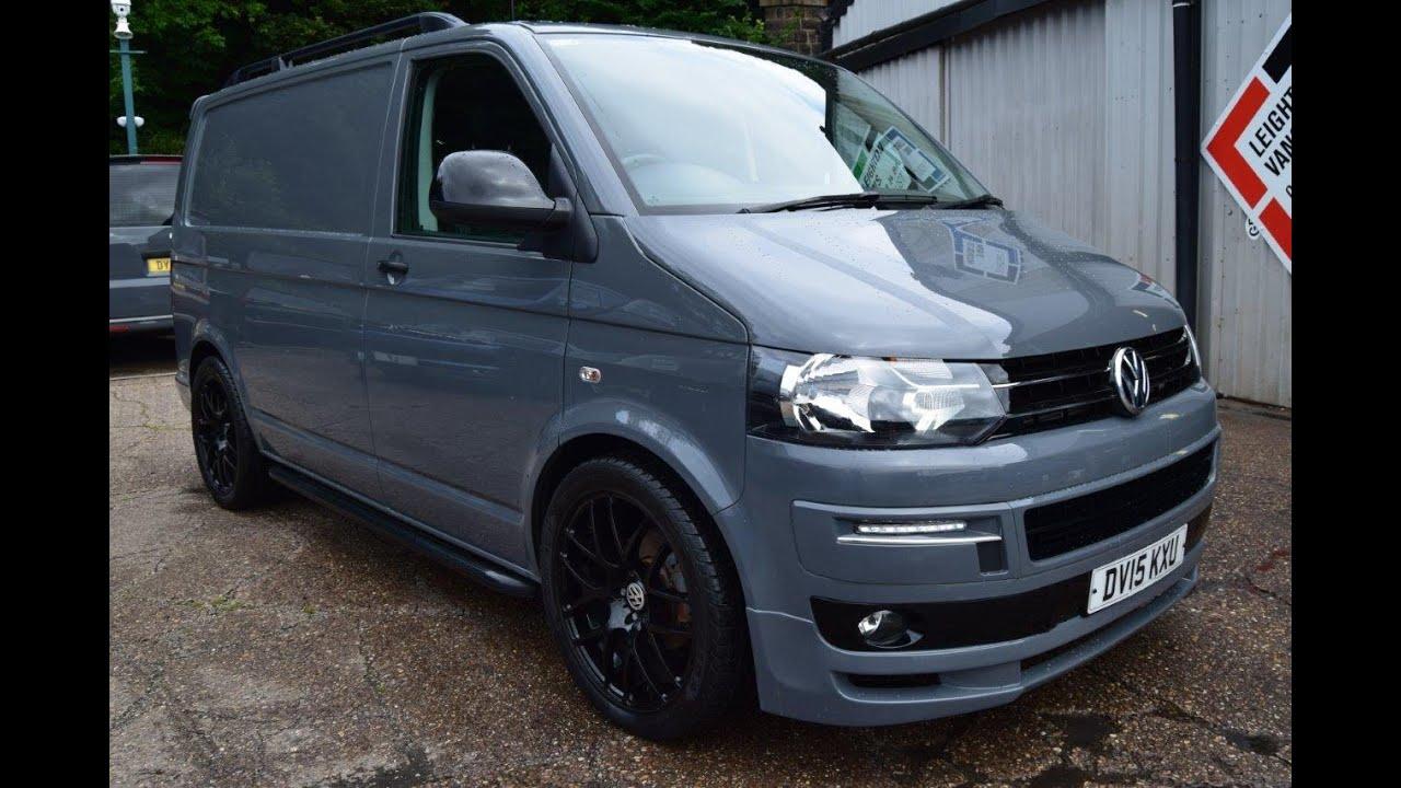 pure grey 2015 vw transporter 2 0 t5 tdi 140ps sportline pk for sale