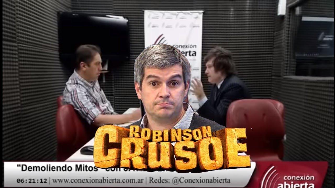 Resultado de imagen para ROBINSON CRUSOE MILEI
