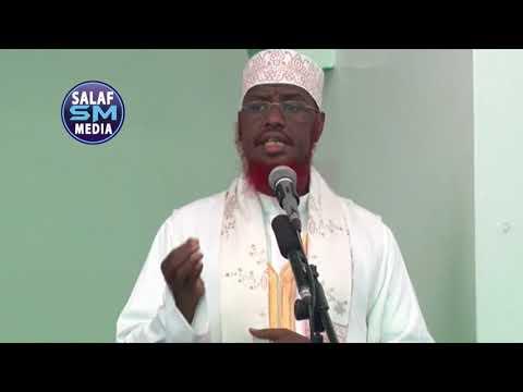 Xaalada Muslimiinta ee Maanta (Gaar ahaan Rohingaha) khutbah - Sh M. C. Umal