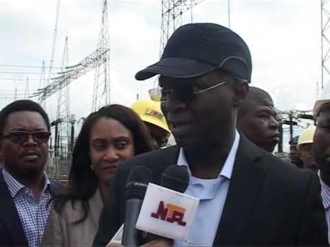 Minister Of Power Inspects Power Plants