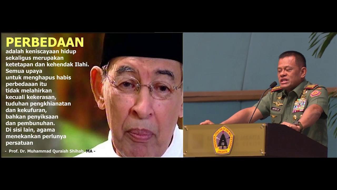 Panglima TNI Sampaikan Kata Kata Mutiara Para Tokoh Bangsa YouTube
