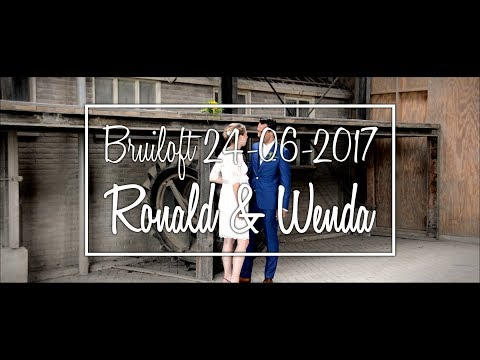 Bruiloft Ronald en Wenda