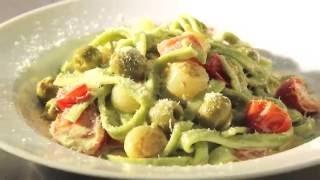 Видео рецепт. Три вида вкусной пасты