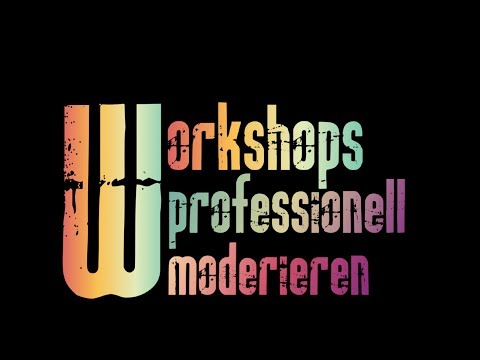 Workshops professionell moderieren