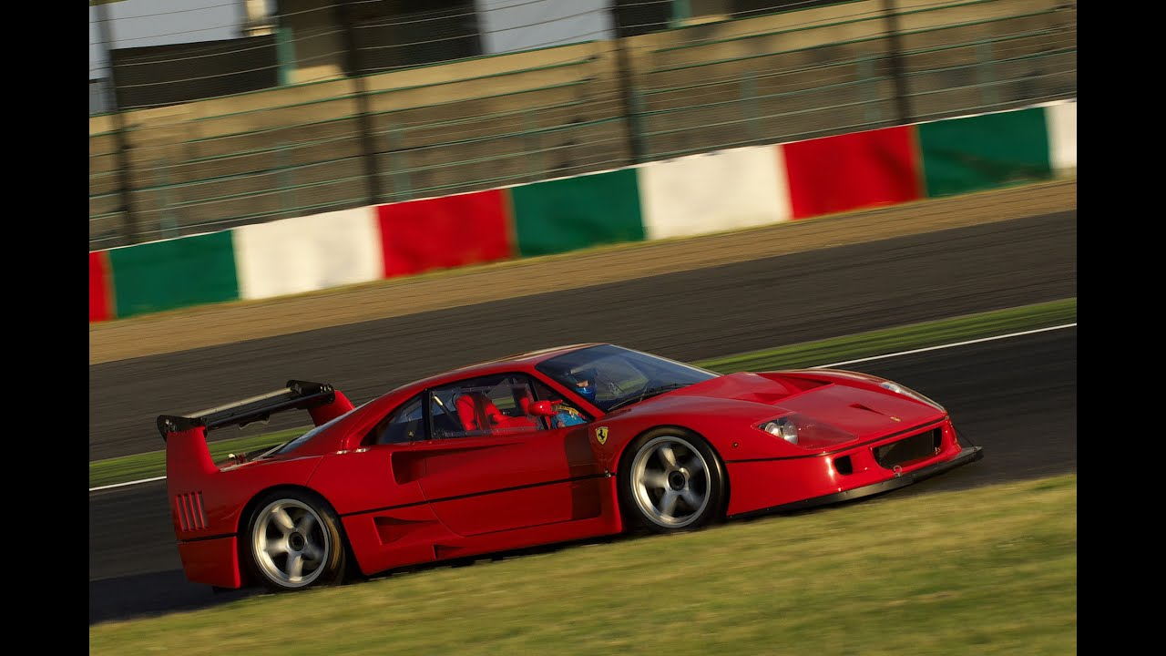 F40 LM drive-by