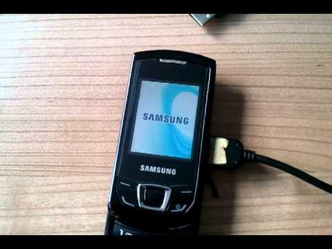 Remove Simlock Samsung Monte Slider E2550