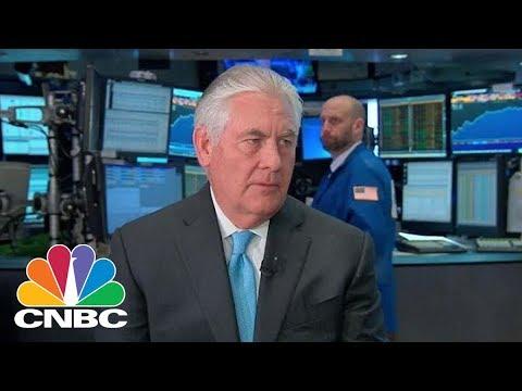 Secretary of State Rex Tillerson Reportedly Described President Donald Trump as 'A Moron' | CNBC