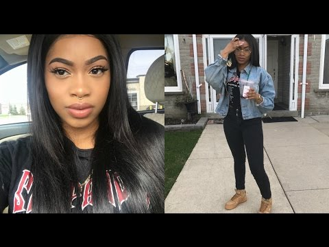 Chit Chat Hair & Makeup GRWM | Going to NYC, No more nipple piercing, Working out & being bullied