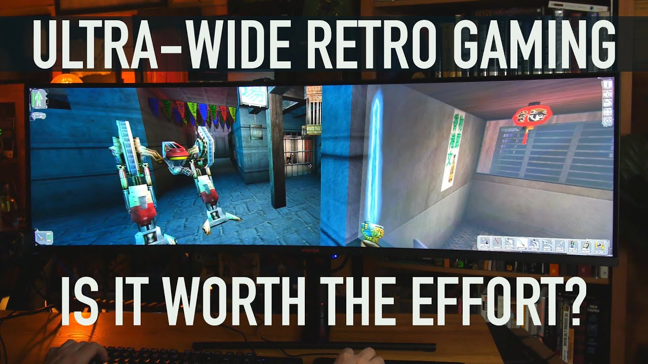 Ultra-Wide RETRO GAMING Test | Doom, Unreal, Daggerfall, Baldur's Gate, Fallout 2, etc. at 5120x1440