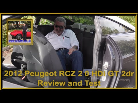 Review And Virtual Video Test Drive In Our 2012 Peugeot RCZ 2 0 HDi GT 2dr CY12FNN