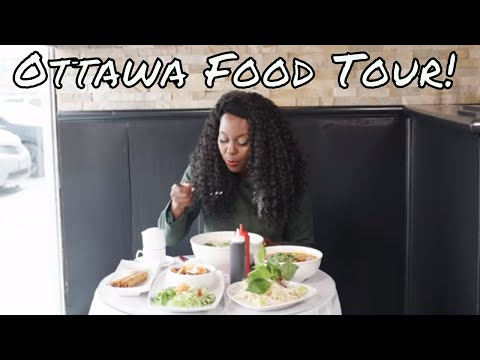 Ottawa Food Tour -  3 Best Restaurants! | Watch Me Speak Vietnamese!