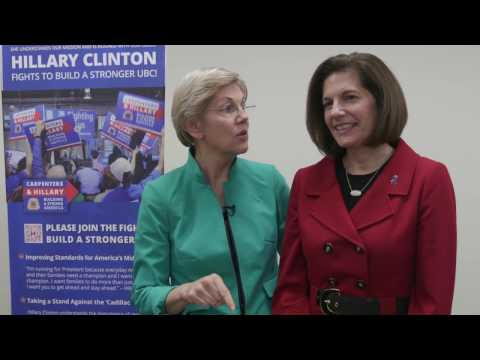 Elizabeth Warren and Catherine Cortez-Masto visit the UBC