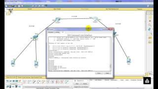 شرح  (Routing Protocols  LAB (RIP + EIGRP +OSPF