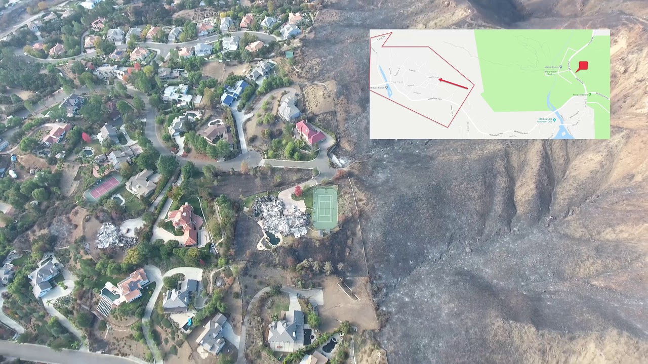 Woolsey Fire Agoura Hills 2018 Youtube