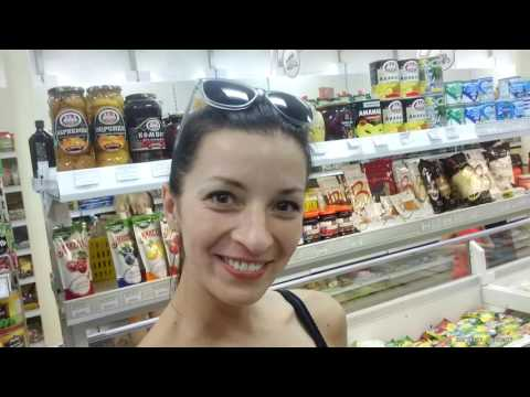 Convenience Store and Short Walk in Novosibirsk Russia