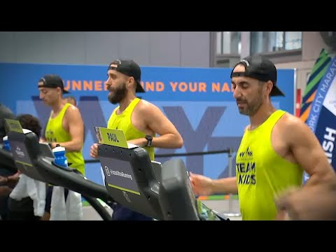 Brothers run 125 miles before NYC marathon for charity