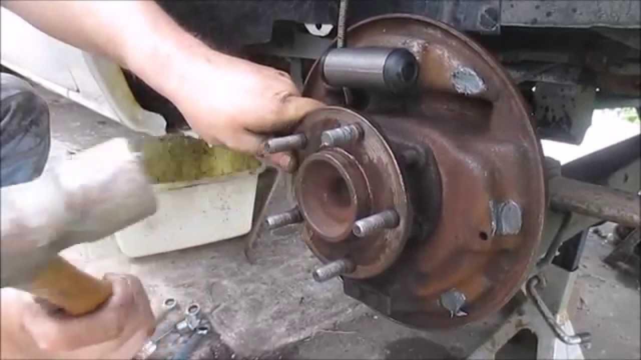Wheel Stud Replacement Dodge Caravan Youtube 2011 Grand Fuse Box