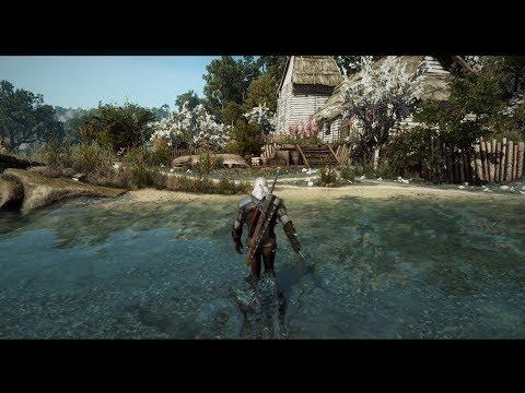 Witcher 3: Extreme Modded Graphic Gameplay | Poppy Reshade | Phoenix Lighting Mod 7.1