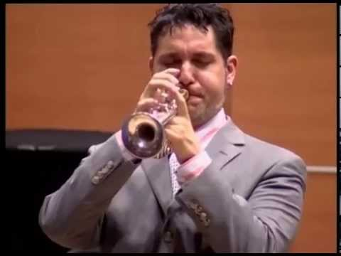 Rex Richardson plays the Blues on Piccolo Trumpet