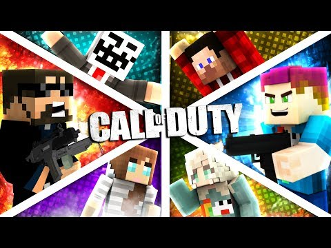 Minecraft: CALL OF DUTY WW2   MODDED MINI-GAME (jackpot!)