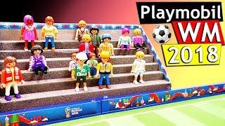 Playmobil WM 2018 DIY   Tribüne für Playmobil Stadion selberbauen   Playmobil DIY Idee
