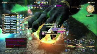 FFXIV; Containment Bay Extreme Sephirot. World 1st. Angered FC. Team Ohlolol? WHM PoV