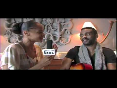 Fally Ipupa - Interview with Gracie Phoenix during 2011 BET Awards Weekend