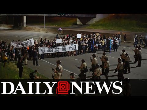 Protests Erupt After Philando Castile Verdict