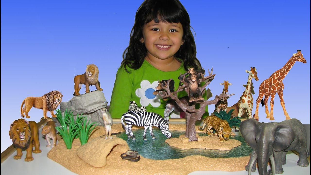 Toys For 21 Year Olds : Animal toys zoo for children year old plays with
