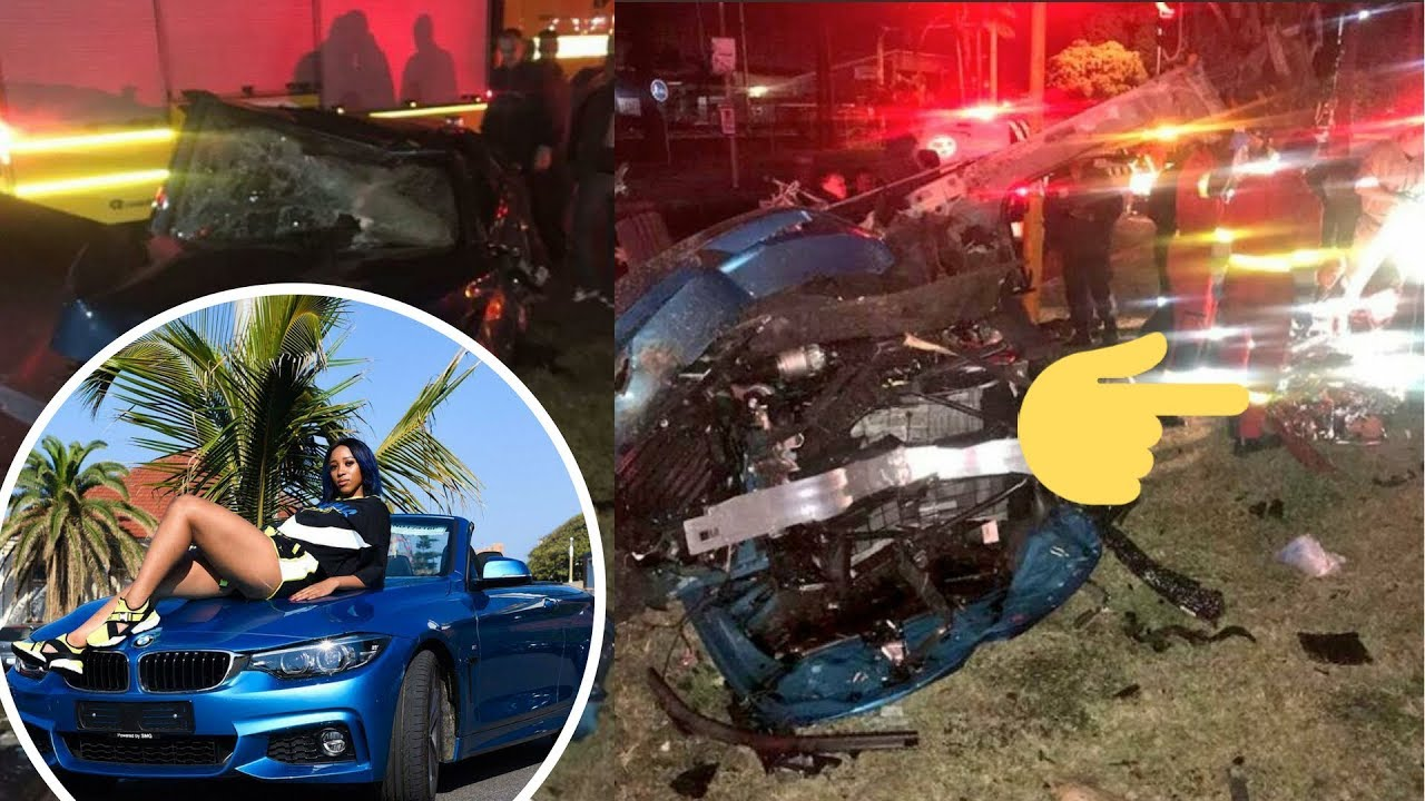 Something Scary Is Appearing On Sibahle Mpisane's Accident Pictures