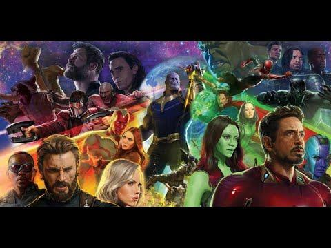 Avengers infinity war rap battle(amv)