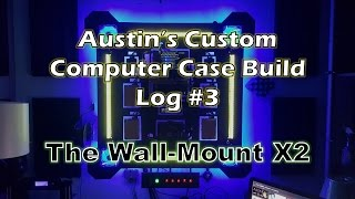 how to make a gaming wallputer diy wall mounted pc