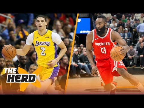 Colin praises Harden and Lonzo after their performances on Monday night | THE HERD