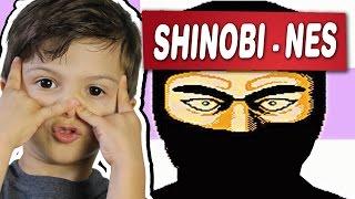 SHINOBI - NES - Gameplay Comentado em Português