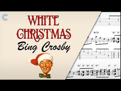 Ukulele - White Christmas - Bing Crosby - Sheet Music, Chords, & Vocals