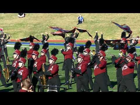 Buhler High School Marching Band KBA Topeka Oct 2017