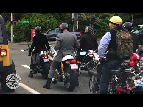 Cafe Racers Union @ Seattle's Distinguished Gentleman's Ride 2018
