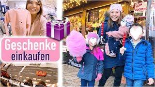 Geschenke Shopping mit 3 Kindern 🙈 Familien Fotoshooting | Babykleidung aussortieren | Mamiseelen