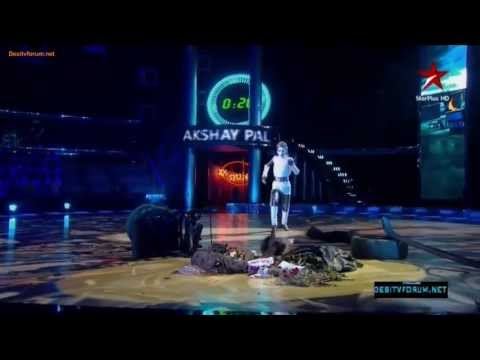 Magical Performance by Akshay Pal   India's Dancing Superstar 16 June 2013