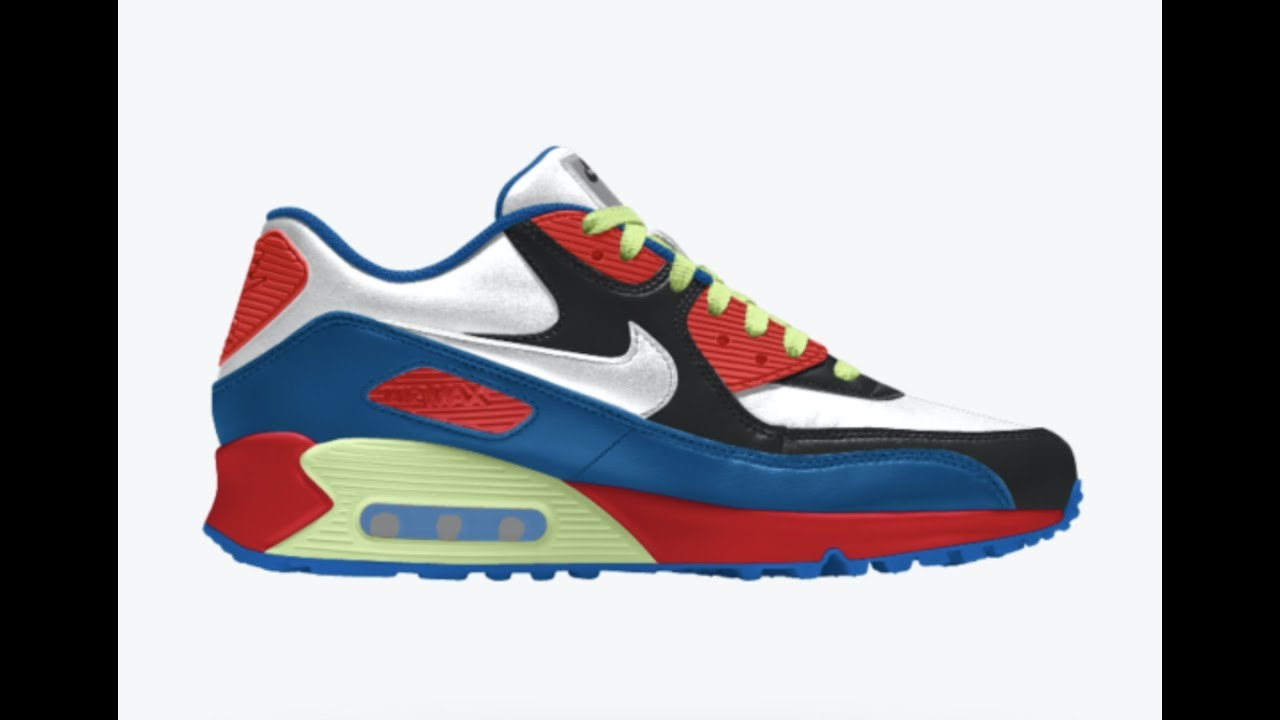 7a9d15a37550d NIKE AIR MAX 90 REVIEW (AIR MAX DAY) MY DESIGN - YouTube
