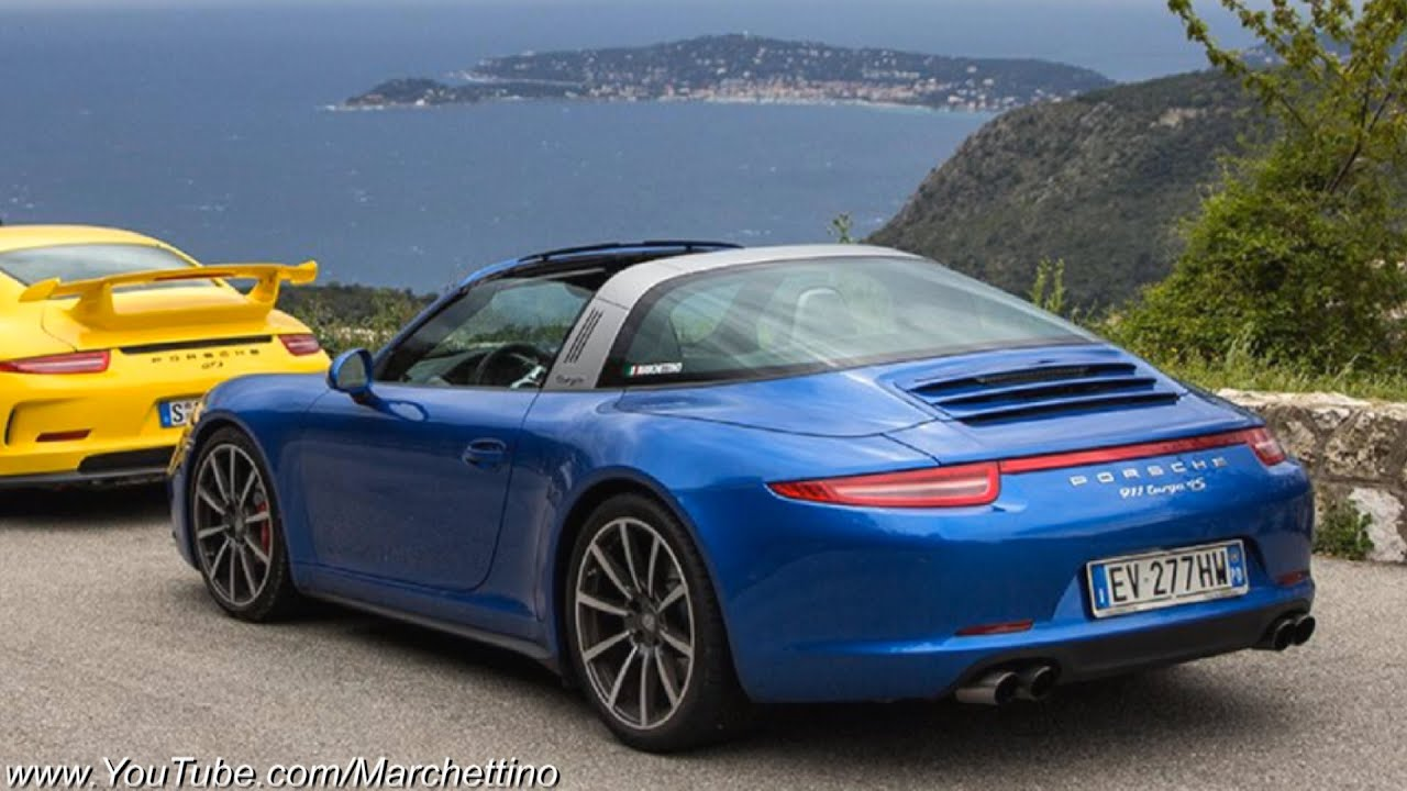 Porsche 991 targa 4s driven a modern classic 911 youtube sciox Image collections
