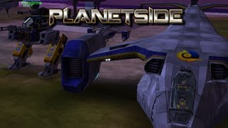 Planetside 1 Storm the base walker